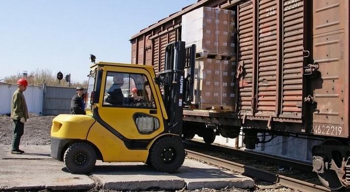 картинка загрузка и выгрузка вагонов