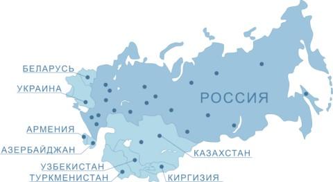 картинка карта перевозок по России