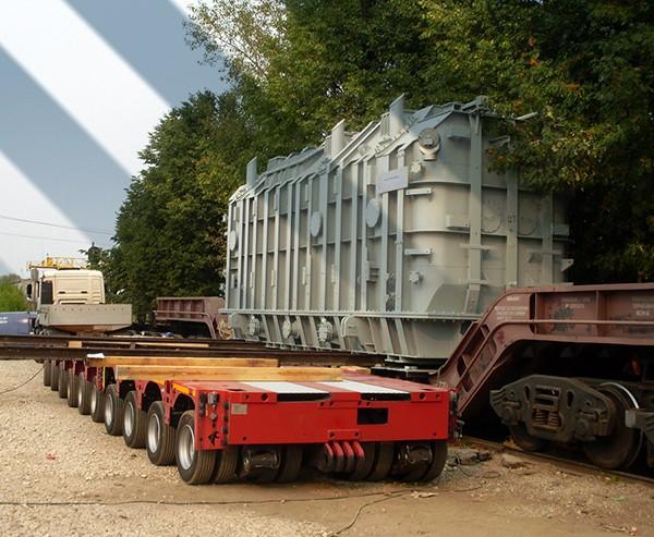 картинка перевозка негабаритных трансформаторов тралом