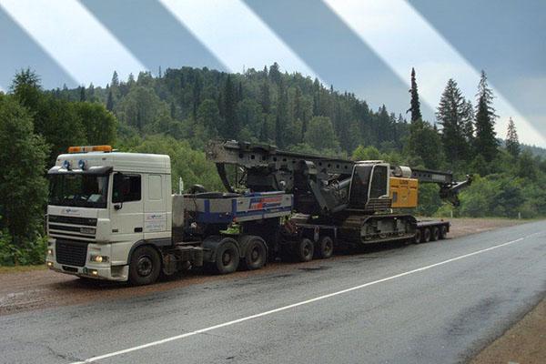 Перевозка буровых установок-2