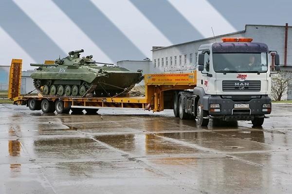 Картинка перевозка военной техники 2