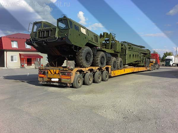 Картинка перевозка военной техники 1