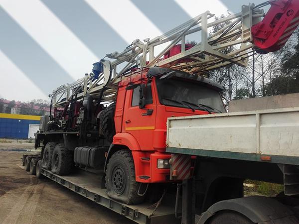 картинка транспортировка буровой установки