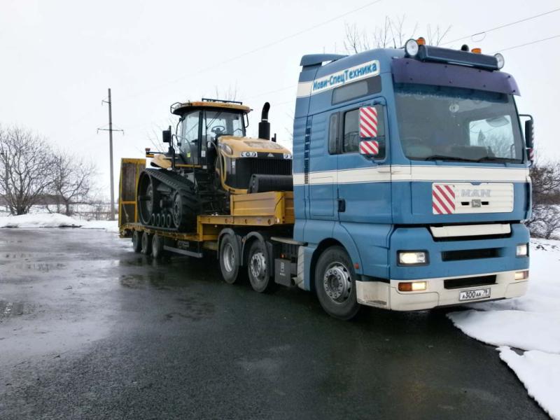 фото перевозка гусеничных тракторов