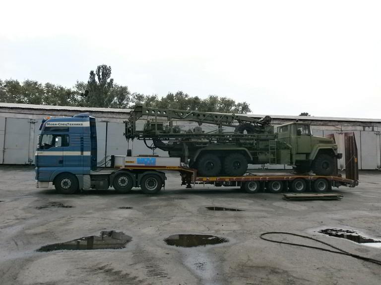 фото перевозка колесной военной техники