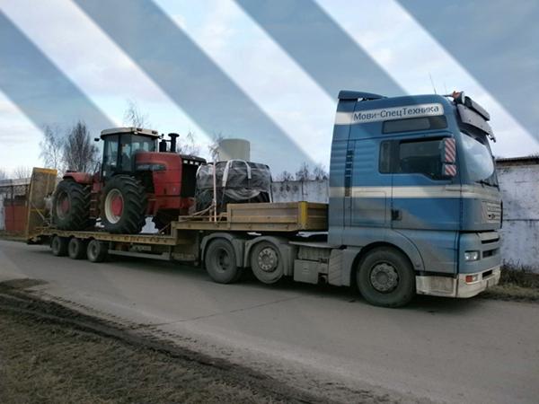 негабаритные перевозки автотранспортом